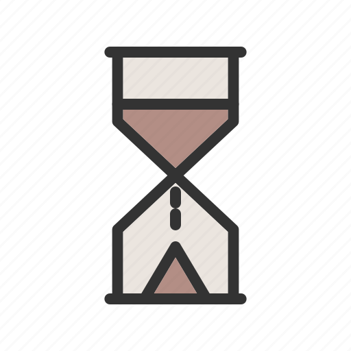 Clock, glass, hour, hourglass, instrument, sand, time icon - Download on Iconfinder