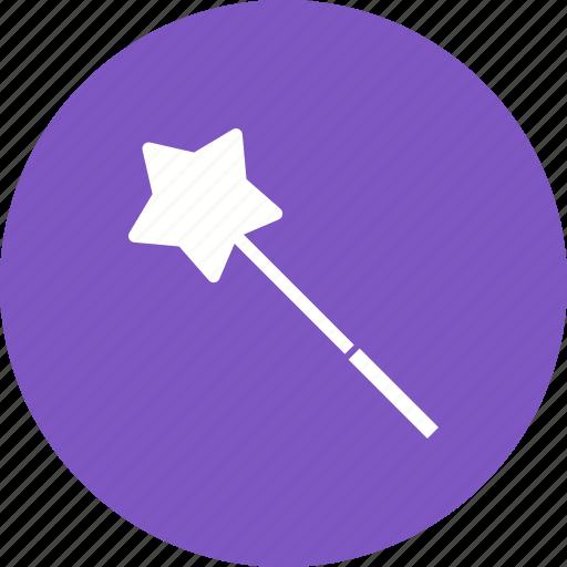 fun, magic, magician, princess, stick, wand, wizard icon