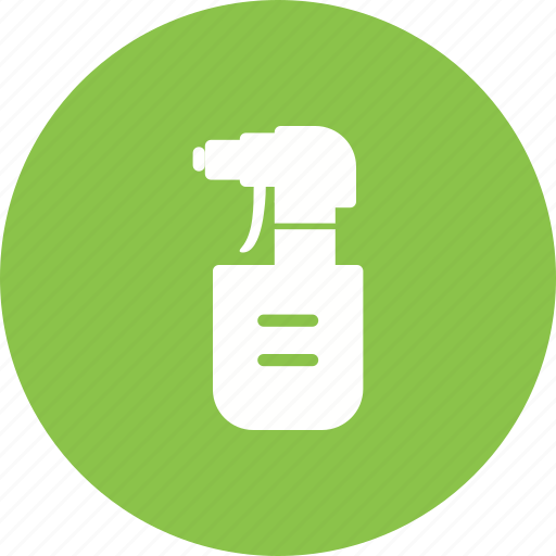 bottle, care, container, plastic, pump, spray, water icon