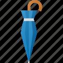 closed, holder, rain, rainy, umbrella icon