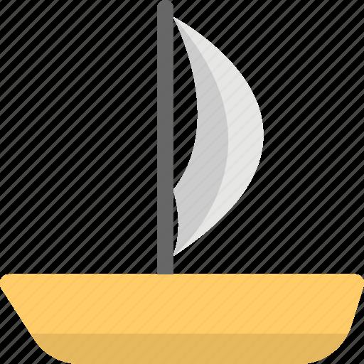 boat, sailboat, ship, water craft, yacht icon