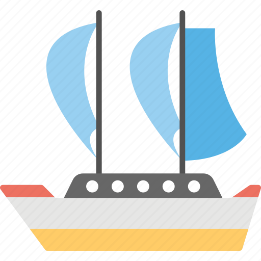 boat, sailboat, ship, water craft, yacht icon