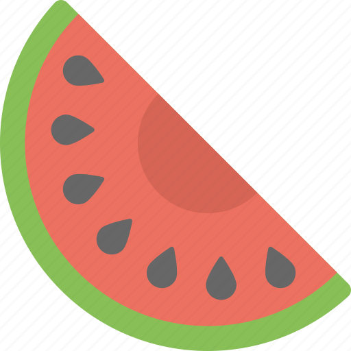 food, fruit, natural food, watermelon, watermelon slice icon