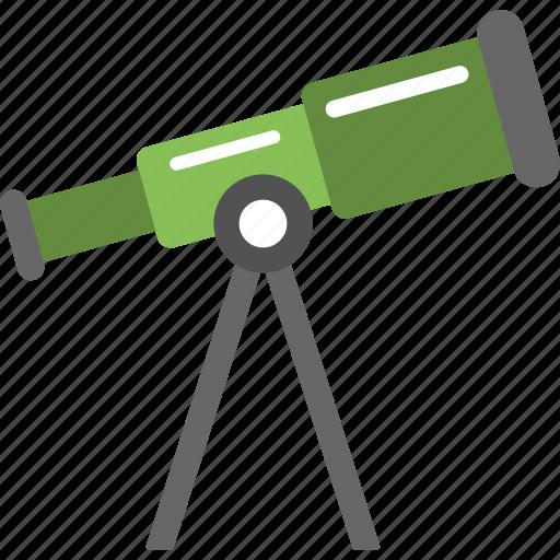 discovery, focus, spyglass, telescope, telescope for astronomy icon