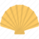 bivalve mollusks, clam, sea shell, shell, shellfish icon