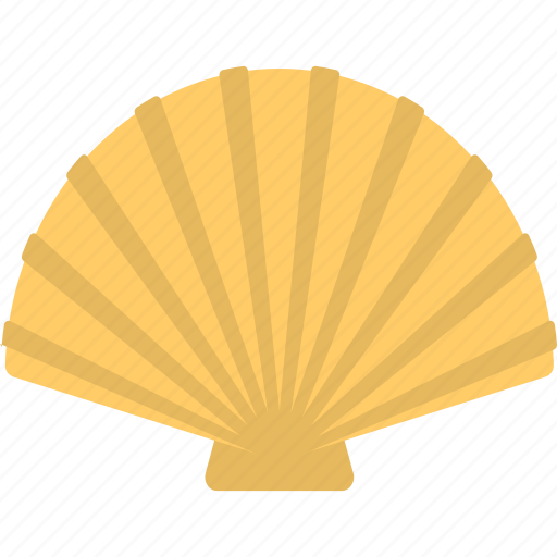 bivalve mollusks, clam, sea shell, shell, shellfish icon