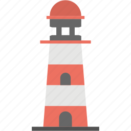 lighthouse, lighthouse tower, sea lighthouse, sea tower, tower house icon