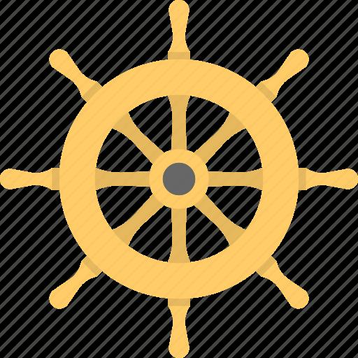 boat controller, boat steering wheel, boat wheel, ship wheel, steering wheel icon