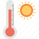 meteorology, outdoor thermometer, temperature gauge, thermometer, weather thermometer icon