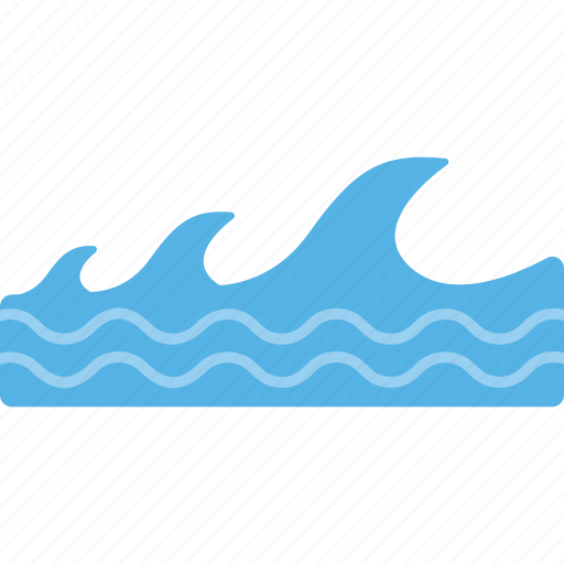 ocean waves, sea with giant waves, water waves. waves splash, waves icon