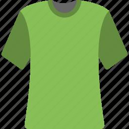 clothes, round neck, shirt, summer clothes, summer wear, t-shirt icon