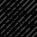 camouflage, gun, hunt, hunter, uniform icon