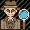 crime, detective, evidence, mystery, spy icon