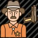 avatar, cowboy, police, prefect, uniform