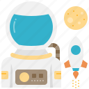 astronaut, astronomy, cosmonaut, spaceman, universe
