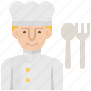 chef, cook, cuisine, gourmet, kitchen icon
