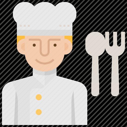 Chef, cook, cuisine, gourmet, kitchen icon - Download on Iconfinder