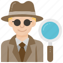 crime, detective, evidence, mystery, spy icon