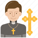 church, faith, god, pastor, prayer icon