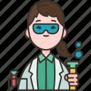 scientist, researcher, chemistry, laboratory, experiment