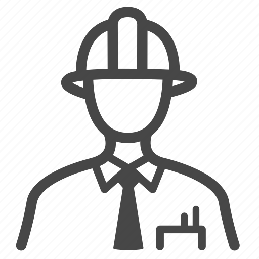 Architect, contractor, engineer, occupation, technician, construction, worker icon - Download on Iconfinder