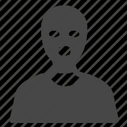 bandit, crime, criminal, hacker, robber, terrorist, thief icon