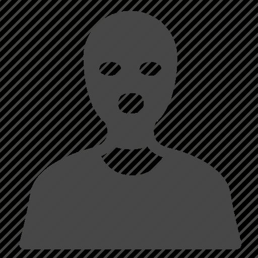 Bandit, criminal, robber, thief, crime, hacker, terrorist icon - Download on Iconfinder