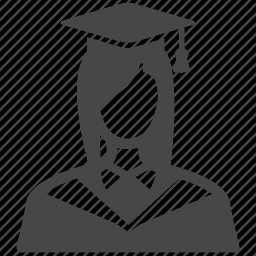 Avatar, College Student, Education, Female, Graduated