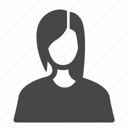avatar, occupation, profile, trainee, user, woman, worker icon