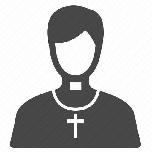 Clergyman, cleric, father, pastor, priest, man, occupation icon - Download on Iconfinder