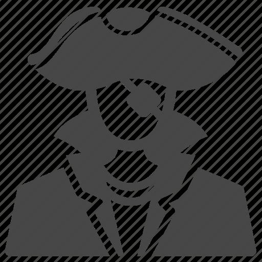avatar, buccaneer, captain, pirate, sea rover, thief, user icon