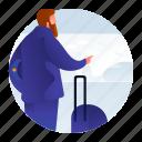 avatar, man, occupation, pilot icon