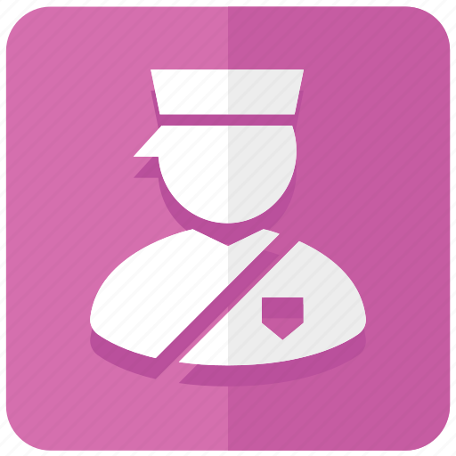 cop, immigration, inspector, officer, parking, police, policeman icon
