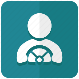bus driver, chauffeur, drive, driver, driving, transporter icon