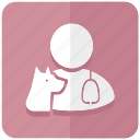 animal, clinic, doctor, hospital, medicine, vet, veterinarian icon