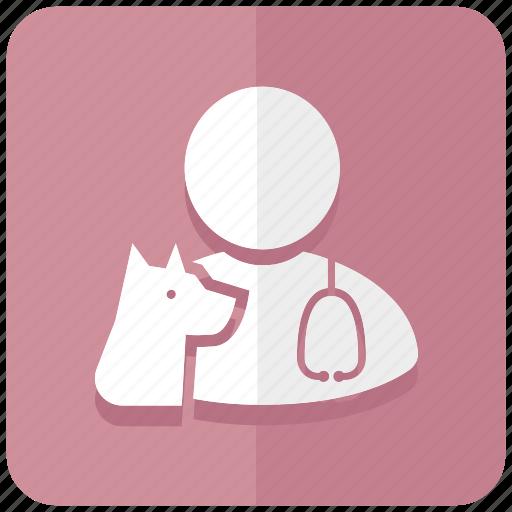animal, clinic, doctor, hospital, medicine, vet, veterinarian icon