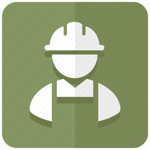 construction, engineer, labor, laborer, mason, occupation icon