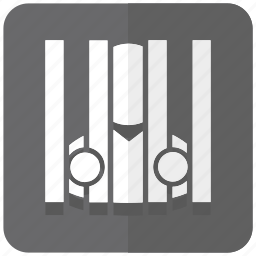 closed, gaol, illegal, jail, prison, prisoner, thief icon