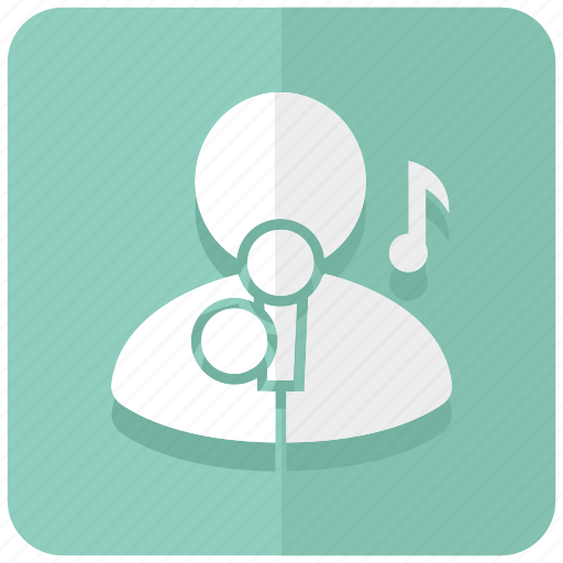 Hobby, karaoke, music, sing, singer, song, vocal icon - Download on Iconfinder