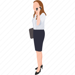 businesswoman, lawyer, manager, marketing, office worker, sales, saleswoman icon