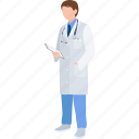 clinician, doctor, general practitioner, hospital, medical, physician, surgeon icon