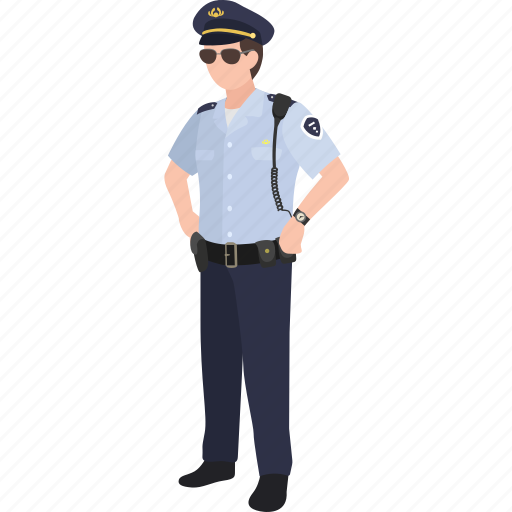 constable, cop, law enforcement, police, police officer, policeman icon
