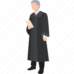 court, judge, justice, law, lawyer, magistrate, minister icon