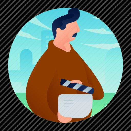 avatar, director, man, movie, occupation icon
