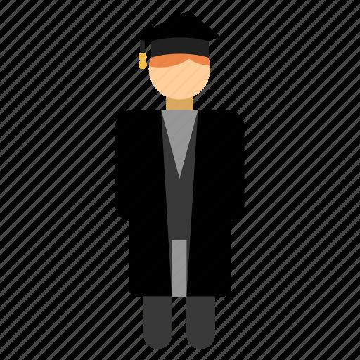 academic, education, graduation, guru, professor, student, teacher icon