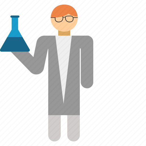 chemical, chemist, flask, laboratory, science, scientist icon