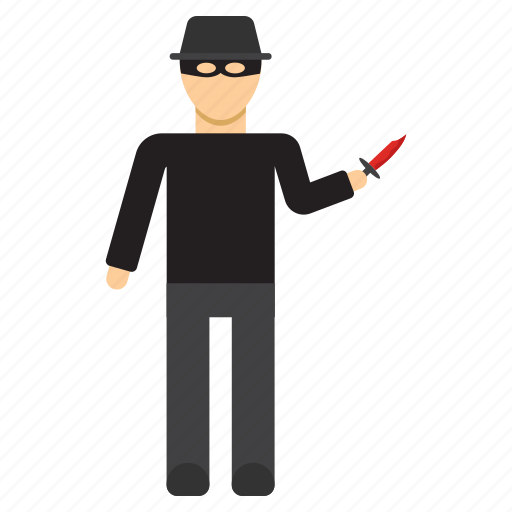 crime, criminal, kill, killer, murder, robbery icon