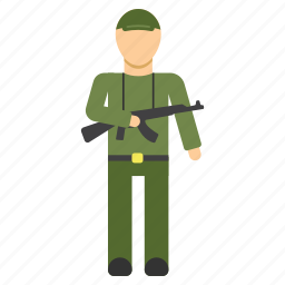 army, guard, protection, security, sergeant, soldier icon