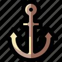 anchor, cruise, marine, nautical, sea, ship, vessel