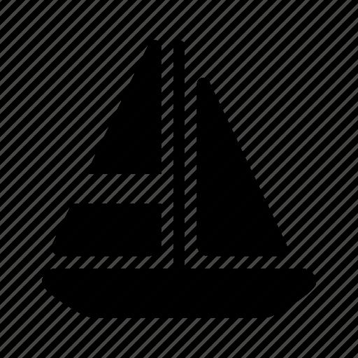 boat, ocean, sailboat, sea, ship, transport, transportation icon